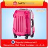 China wholesale beautiful professional peach fancy ltravel luggage