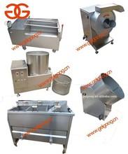 Automática de batata chips linha de produção |fresh lavar e descascar batatas | máquina de fritar batatas fritas máquina