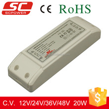 Triac dimmable constant voltage led driver 12v dimmable 110v