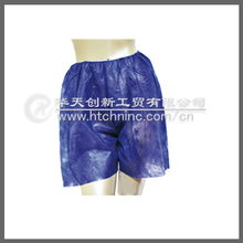 waterproof PP 100% non-woven boxer short pants for hospital
