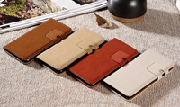 10 colors free sample factory price leather case with stand for iphone 6 , case for iphone 6