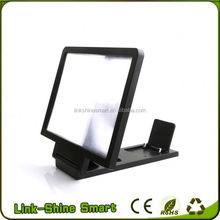 2015 mobile phone LCD LED portable electronic magnifier,screen magnifier, mobile phone screen magnifier