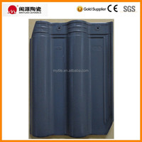 Alibaba china matte grey color ceramic roof tile