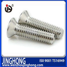 Best price high quality stainless steel din 965 countersunk machine screw