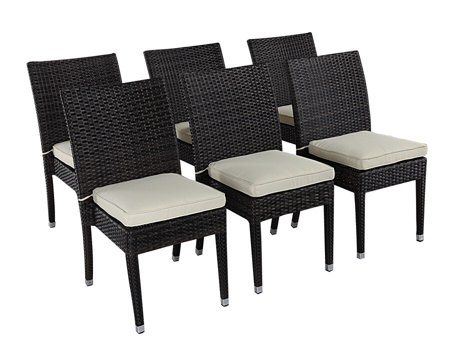 modern outdoor furniture restaurant used dining rattan