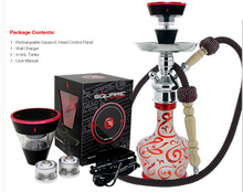 Special shape!!!Transparent glass shisha hookah e head electronic shisha flavor liquid