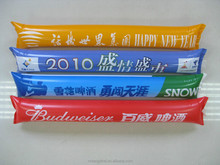 Eco-friendly PE Promotional BangBang Stick/Noise Maker/Inflatable Cheering Stick