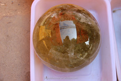 2015 Top Selling In Donghai natural Citrine crystal ball / Beautiful Topaz Crystal Sphere Ball Wholesale / Citrine Quartz Crysta