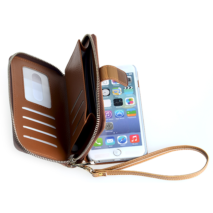 ... Case for iphone 6s with Credit Card Holder/Slots and Wrist Lanyard