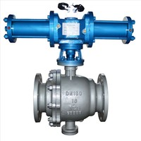 ZXDA Hydraulic double cylinder ball valve DN50~800mm