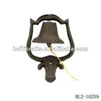 cast iron cow bell