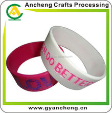 free design quality silicone bracelet suppli for holiday gifts