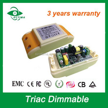 constant current 12w Australian c-tick saa 700 ma led driver triac dimmable driver