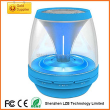 Outdoor cool wireless Lights bluetooth speaker led light mini speaker with USB support TF card