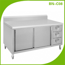 Most popluar Stainless steel kitchen cabinet with drawers BN-C08