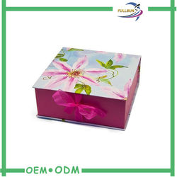 2015 Dongguan Custom Paper Jewelry Gift Boxes for promotion