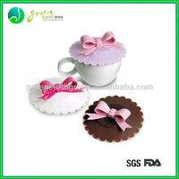 2015 Newest Soft and Lovely colorful customized wholesales silicone cup cover