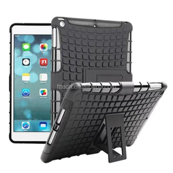 Heavy Duty Armor Shockproof Case for ipad / 2 in 1 Armor Hybrid Combo Unbreakable Protective Case for Ipad Air Tablets