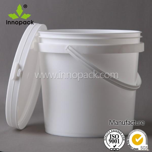 2l pas cher seau en plastique avec couvercle et poign e en - Bac plastique avec couvercle pas cher ...