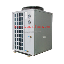 18.6 kw All weather keep 25~245cube meter water 32deg.C 12kw/19kw/35kw/70kw R410A thermostat swimming pool heat pump energy savi