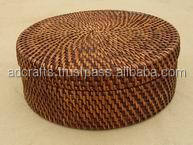 widenly weaving laundry basket clothings rattan basket 100% handicraft product