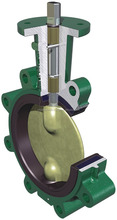 HAND WHEEL OPERATED WAFER TYPE BUTTERFLY VALVE