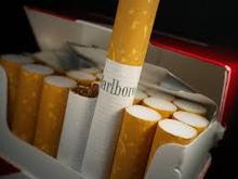 Brand name cigarettes in stock.