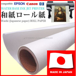 Durable and original coating printing product, Washi paper roll for photographic prints, art works free sample