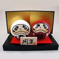 alta qualidade japonesa kokeshi bonecos de madeira com muitos desenhos