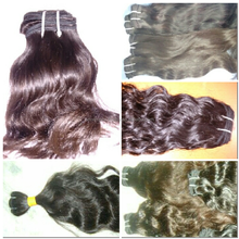 Natural colour Good quality natural remy human hair extension.Best shedding free and tangle free remy human hair weaving.