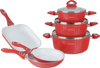Royalty Line - 9 Pieces Forged Aluminium Cookware Set // FM-Series