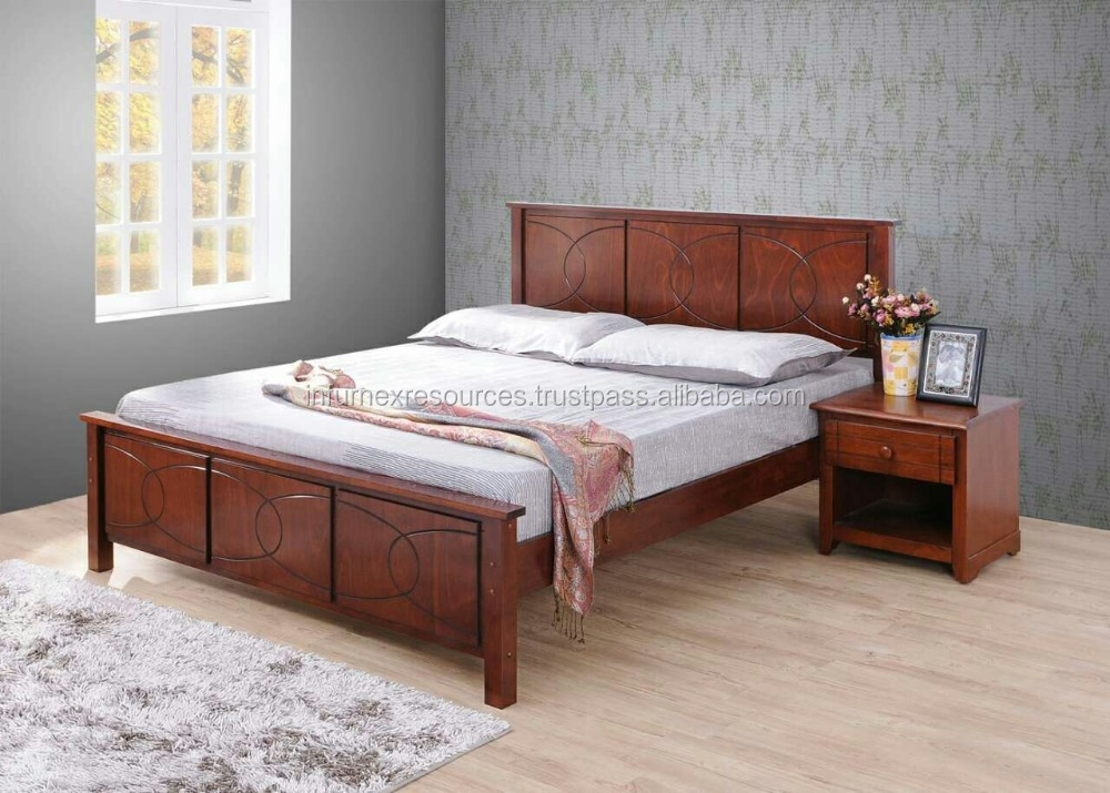 Bed Wooden Bed Malaysia Bed Solid Rubber Wood Furniture Single Bed Buy Solid Wood Malaysian