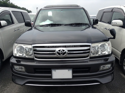 JAPANESE USED CARS FOR TOYOTA LAND CRUISER 100 5D4WD VX-LTD G-SELECTION KR-HDJ101K EXPORTED FROM JAPAN