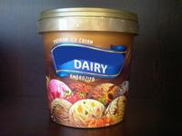 Round Ice Cream container any size 0001