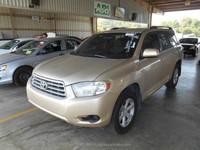 LHD Used 2010 Toyota Highlander 2.7L FWD [071515]