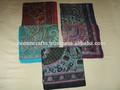 algodón impreso pañuelos cuadrados lote de 100 piezas