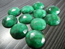 Tinte smeraldo taglio rosa/processo gemma/colore della pietra preziosa/gemma ingrosso