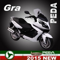 (GRA) 2015 NEW gas scooter 250cc EFI water cooling 15inch Italian design EXCLUSIVE (PEDA MOTOR)