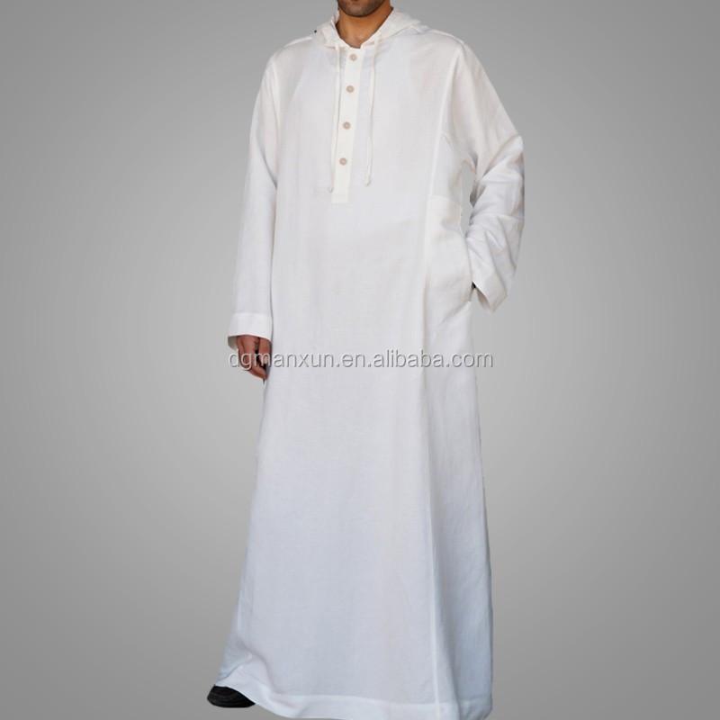 High Quality Daffah Thobe Arabian Robe Saudi Style Muslim Clothing For Men Arabic Thobe Jubbah5.jpg