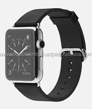 Buy 2 get 1 Free Unlocked Appe Watch 38mm Stainless Steel Case with Black Classic Buckle - New - Warranty - Original