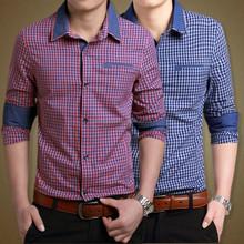 2015 OEM service man 100% cotton custom made dress shirt