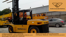 used 15T komatsu forklift for sale in china,japan made,cheap and good condition