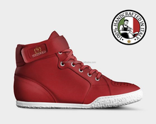 TucciPolo Genuine Leather Casual Dress and Basketball High Tops Limited Edition Sneakers Shoes- Made In Italy