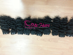Wavy virgin remy hair no tangle made in Vietnam fast delivery remy hair