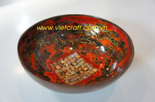 Low price in bulk high quality lacquer coconut bowl lacquer coconut shell bowl from Vietnam