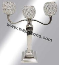 Table Top Crystal Candelabra and tall crystal candelabra for wedding from Wajidsons Corporation in India