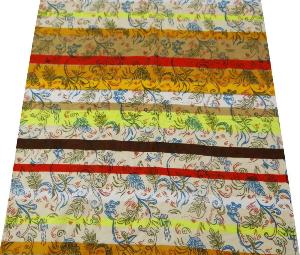 Multicolor cotton fabric craft supplies abstract print for Fabric supply