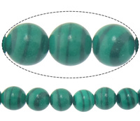 Malachite Beads Round natural 6mm Hole:Appr 0.8mm Length:Appr 15.8 Inch 10Strands/Lot pr 67PCs/Strand Sold By Lot