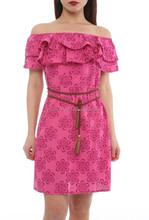 off shoulder summer dresses with belts made in Turkey