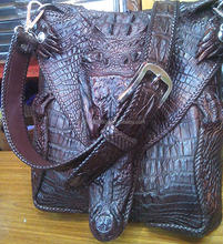 Crocodile leather ( Real authentic ) hand bag etc.
